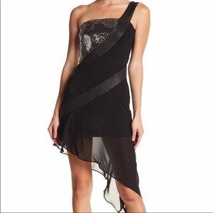 TOV NWT sequin asymmetrical dress